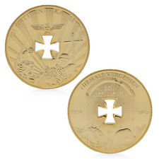 1914-1945 Guerre Mondiale 1 2 Souvenir Les défi Pièces commémoratives D'or