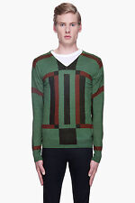 DIESEL BLACK GOLD KATIANA-MAGIC GREEN JUMPER SIZE L 100% AUTHENTIC