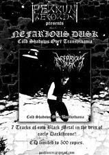 Nefarious Dusk - Cold Shadows Over Transylvania _NEW CD 2018 Black Metal