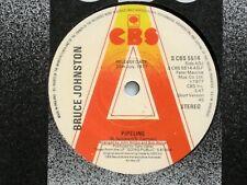 "New listing BRUCE JOHNSTON - PIPELINE - 7"" VINYL - CBS LABEL + SLEEVE - DEMO COPY"