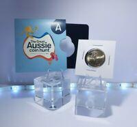 2019 $1 Alphabet A Australia Post UNC Coin Pocket Limited Great Aussie Coin Hunt