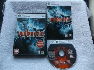 WOLFENSTEIN PC DVD-ROM 2009 VERSION V.G.C. FAST POST ( FPS shooter game )