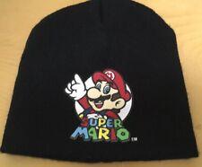 2013 Nintendo Vintage Super Mario Beanie Hat; Black, One Size Fits All