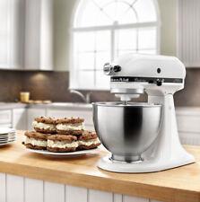 KitchenAid 4.5 Quart Classic Plus Stand Mixer - White