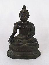 Antique Asian Buddha Bronze Statue