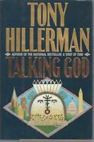 Talking God Tony Hillerman SIGNED First Edition