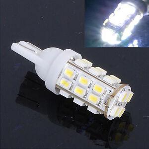 2PCS White Bright T10 1206 28 SMD LED Car Taillight Reading Light Lamp Blub