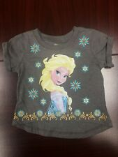 NWT Disney Blue Frozen T-shirt Princess Elsa Size baby Girl 12 month