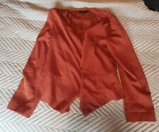 Ladies 'NEW LOOK' Peach casual jacket. Size 10. vgc.