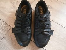 Adidas Black Leather Men Trainers size 8 (26.5 cm)