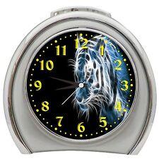 Cool Tiger Alarm Clock Night Light Travel Table Desk