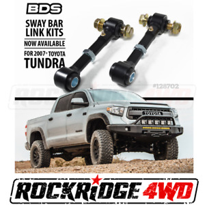 "BDS SUSPENSION SWAY BAR LINKS FOR 07-18 TOYOTA TUNDRA w 4.5""-7"" Of lift 128702"