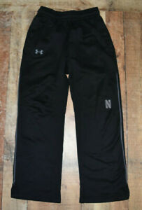 Men's Northwestern Wildcats Under Armour Loose Cold Gear Sweat Pants Medium B64