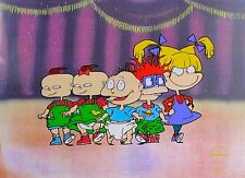 Nickelodeon Rugrats Salute Animation Art Sericel Cel Rare