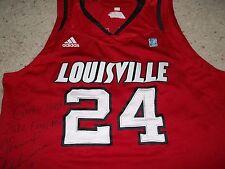 Louisville Cardinals Basketball Chane Behanan 2011/12 NCAA Red Game Used Jersey