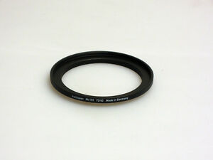 Heliopan 72-62mm Stepping Ring. Brand New. Highest Quality All Brass,German Made