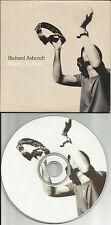 The Verve RICHARD ASHCROFT Money to Burn EDIT EUROPE PROMO CD single USA SELLER
