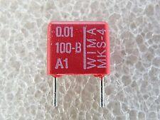 10 condensateurs Wima MKS4 0,01uF 10nf 100V 10%