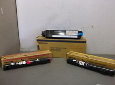 Yellow, Magenta and Waste Container Cartridges for Xerox Phaser 780 and 780 Plus
