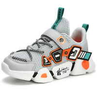 Kids Boys Sports Fashion Sneakers Casual Running Shoes Athletic Shoes Lace Up
