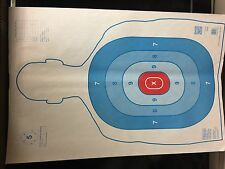 """25 Shooting Targets  23""""x35"""" Qualification Targets"""