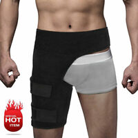 Groin Pain Relief Thigh Support Strain Brace Wrap Hip Compression Adjustable