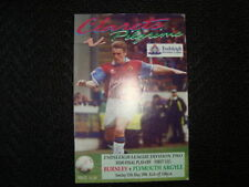 Burnley Away Team Division 1 Football Programmes
