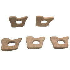 Natural Wooden Animal Eco-friendly Ring Baby Teether Teething Toy Shower Gift WA