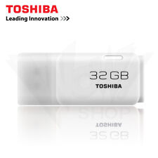 Toshiba Hayabusa 32GB Trans USB 2.0 White Flash Drive Disk Memory Stick U202