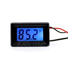 WH5001 Digital Water-proof Thermometer Temperature Meter Gauge Probe ℃ and °F