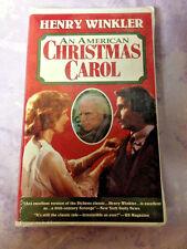 An American Christmas Carol VHS Clamshell Henry Winkler New Sealed
