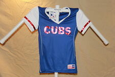 Chicago Cubs  MLB Fan Fashion JERSEY/Shirt  by MAJESTIC  Womens Small  NWT $40