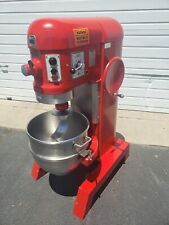 Hobart 60 Quart Mixer w/ Dough Hook & Stainless Bowl 3 Phase 2Hp Pizza Bakery
