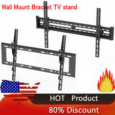 """32-70"""" Wall Mount Bracket Tv Stand with Spirit Level Bearing 50kg 600 x 400mm Us"""