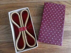 Vintage boxed Lexion armbands / Garters, Peaky blinders / mad men. NEW.
