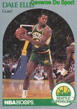 277 DALE ELLIS SEATTLE SUPERSONICS CARD CARTE BASKETBALL NBA HOOPS 1990