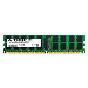 2GB DDR2 PC2-5300E ECC UDIMM (Cisco MEM-1900-2GB= Equivalent) Server Memory RAM
