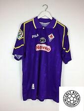 FIORENTINA KANCHELSKIS #17 97/98 Calcio Casa Maglietta (L) SOCCER JERSEY FILA