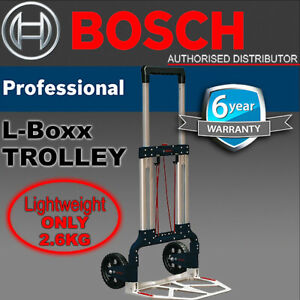 BOSCH L-BOXX Trolley Cart Aluminium Caddy Foldable Stackable System -1600A001SA