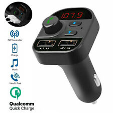 New ListingBluetooth Car Fm Transmitter Mp3 Player Hands Free Radio Adapter Kit Usb Charger