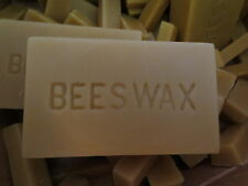 1/2 lb blocks of 100% natural pure beeswax - cosmetic grade
