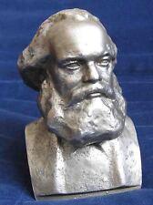 USSR STATUE BUST KARL MARX SOVIET RUSSIAN Lenin / sculptor S'ichov 1966