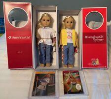 "NEW American Girl Doll 18"" JULIE Original and Beforever GIFT SET Book Box NRFB"