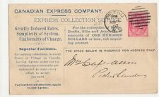 Canada, Canadian Express Company 1902 Postcard, B174