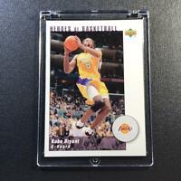 KOBE BRYANT 2001 UPPER DECK KB10 HEROES OF BASKETBALL INSERT #D /989 NBA LAKERS