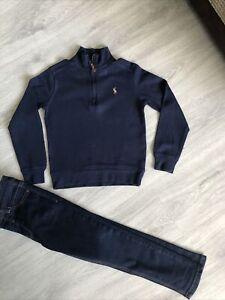 Boys Ralph Lauren Top & Next Jeans Age 5