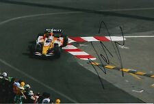 Nelson Piquet Jr Hand Signed ING Renault F1 12x8 Photo 1.