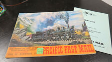 g Pacific Fast Mail Catalog Japanese Brass HO Train Engines Catalog #9