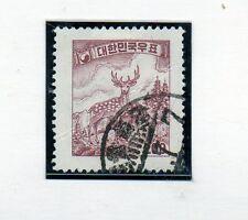 Corea del Sur Fauna Serie del año 1956 (CC-151)