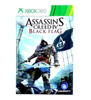 Notice jeu Xbox 360 Assassin's Creed IV 4 Black Flag Instruction Booklet PAL